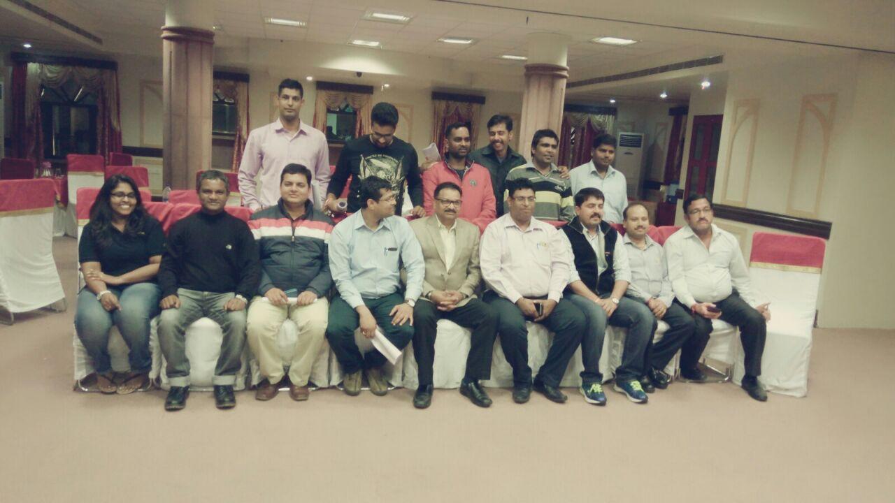 Adroit Training - Training at Jodhpur with L & T