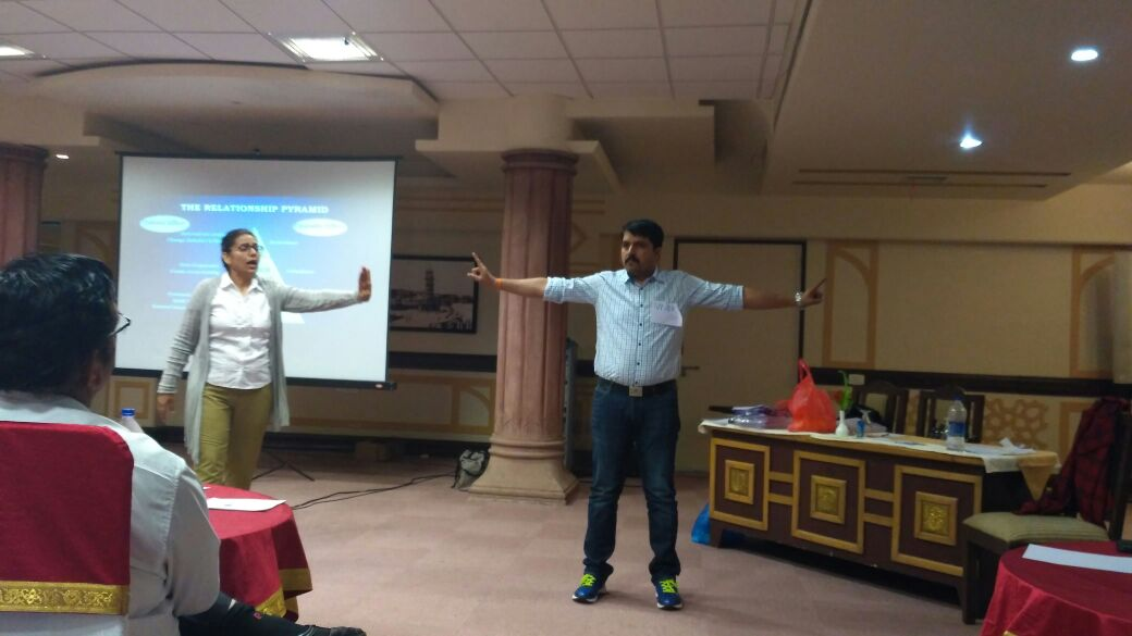 Mandeep Kochar - Training at Jodhpur with L & T