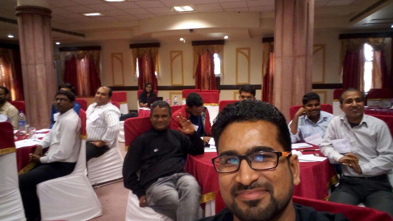 Training at Jodhpur with L & T - Adroit Training