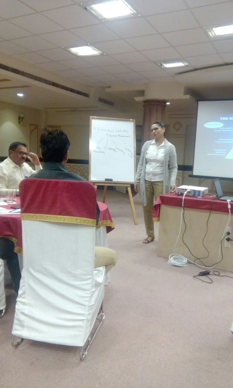 Training at Jodhpur with L & T - Mandeep Kochar