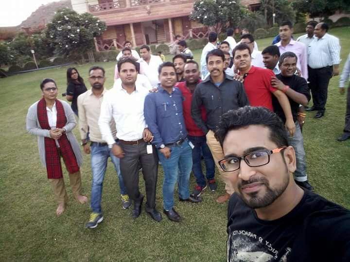Training at Jodhpur with L & T