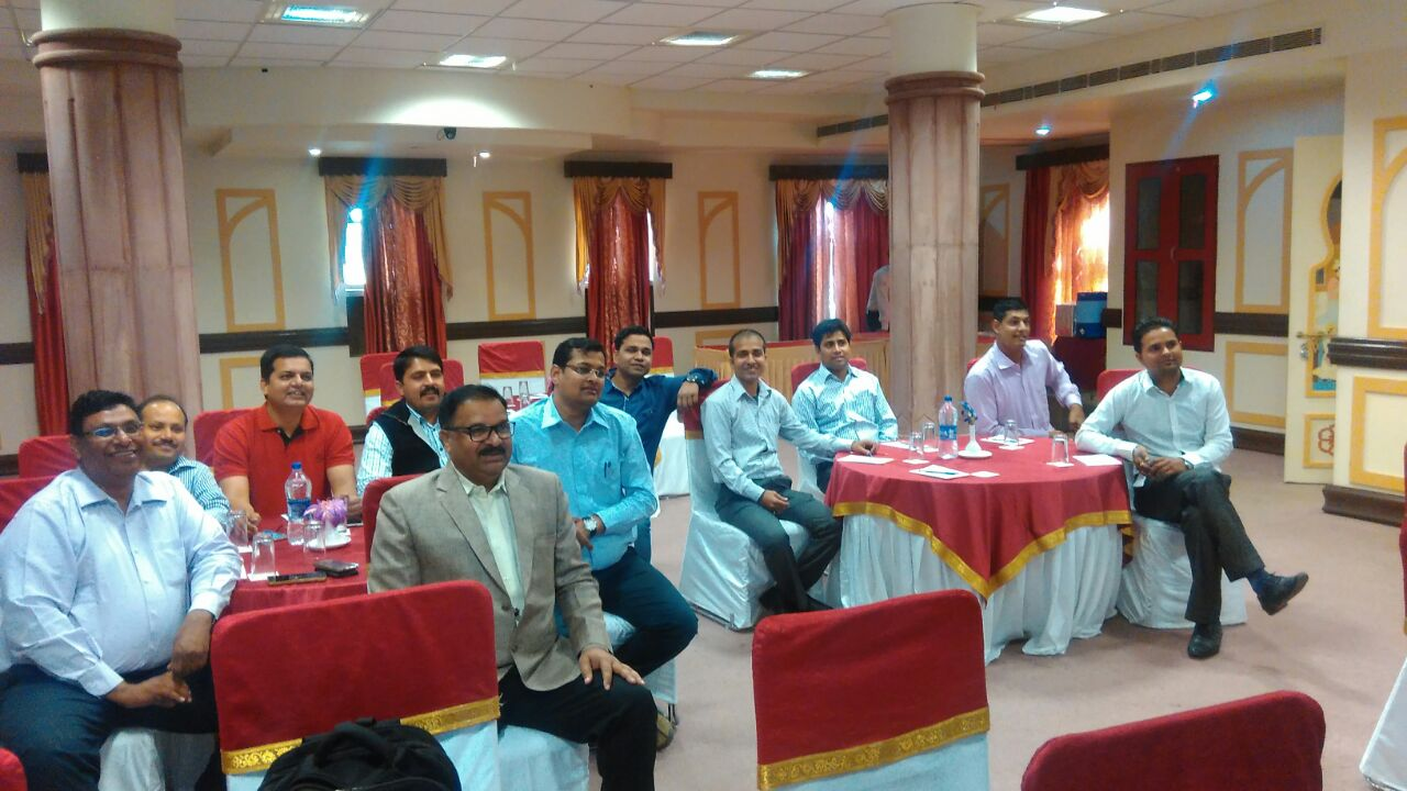 Training with L & T at Jodhpur
